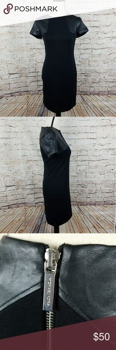 """Michael Kors Black Dress Condition- Great  Size- 2 Measurements- 17"""" pit to pit 36"""" Long  Material- Shell 72% Polyester 23% Rayon 5% Spandex   💛Like 🖒 what you 👀 but not the 💲make me an reasonable offer. Don't be shy 😄💚  Thank you for looking, please be sure to check out the rest of my items. New items are added Monday-Saturday.  All Items are sold As Is.  48 Michael Kors Dresses"""