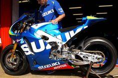 XXX: 10 Hi Res Photos of the Suzuki XRH 1 2015 Suzuki XRH1 MotoGP Catalunya test Niki Kovacs 04 635x423