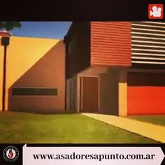 Parrilla Interior, Barbacoa, Ideas Para, Tapas, Bbq, Patio, Duplex House, Barbecue, Yard