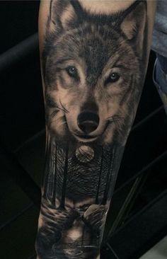 Unique Tattoo For Children - - Tattoo Family Tekst - Wolf Tattoos Men, Native Tattoos, Forarm Tattoos, Badass Tattoos, Leg Tattoos, Body Art Tattoos, Tattos, Tattoo Forearm, Wolf Pack Tattoo