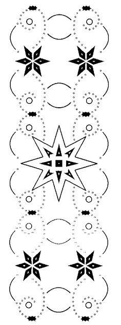 hobbydots patroon strook