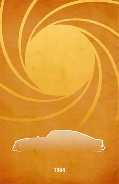 Aston Martin DB5 Poster @ MovieCarPosters.com - $10