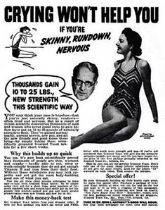 Vintage Weight Gain ads for Women (1)