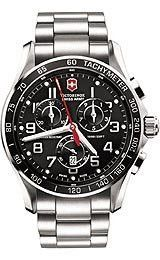 Victorinox Swiss Army Chrono Classic XLS Black Dial Men's watch #241443