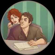 Bruce and Natasha | Marvel and