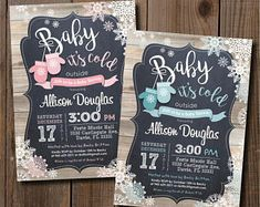 Items similar to Baby it's Cold Outside. Baby Mittens / DIY CARD on Etsy Baby Shower Signs, Baby Shower Invitations For Boys, Baby Shower Favors, Baby Shower Themes, Baby Boy Shower, Baby Showers, Babyshower Invites, Shower Ideas, Winter Party Themes