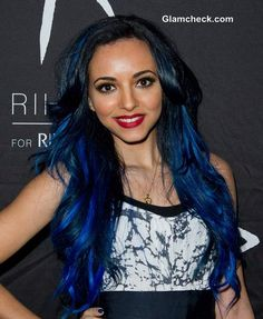 Jade Thirlwall Blue Hair Color