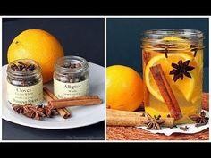 Haz tu propio ambientador ecológico casero para el hogar! con naranja, l...