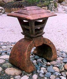 concrete japanese lantern - Google Search