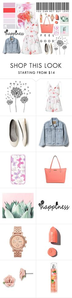 """""""Young And Beautiful"""" by yudiyi ❤ liked on Polyvore featuring jcp, The Jetset Diaries, Gap, Kate Spade, Holga, Liz Claiborne, FOSSIL, PUR and 1928"""