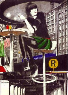 """""""Bowery"""" (2006)."""