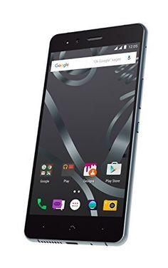 Bq Aquaris X5 Cyanogen Edition schwarz -- via Amazon Partnerprogramm