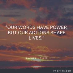 Quotable: Rachel Hollis on Actions
