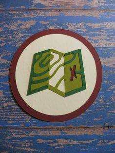 Campin Critters Badge - Maps