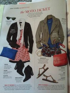 Shorts on the right. InStyle magazine