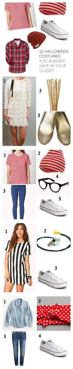 Halloween Costume Ideas Pulled From Your Closet!