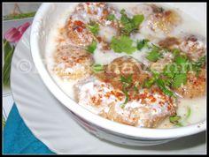 Dahi-Vada (Lentil dumplings in yogurt dressing) #festivalrecipe