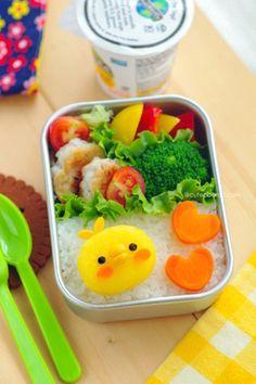 いももちのひよこちゃんのお弁当 【レシピブログ】