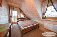 Domek Pod REglami IIA - jedna z trzech 2-osobowych sypialni na piętrze  http://www.domek.podreglami.pl/domek_2.htm