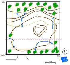 site plan drainage easements Floor Plan Symbols, Free Floor Plans, Study Site, Contour Line, Orange Line, Time To Move On, Roof Lines, Site Plans, Learn To Read