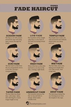 The Fade Haircut Trend: Captivating Ideas for Men and Women Unisex Haircuts, Haircuts For Men, Modern Haircuts, Men's Haircuts, Short Fade Haircut, Short Hair Cuts, Fade Haircut Curly Hair, Boys Fade Haircut, Mens Hairstyles With Beard
