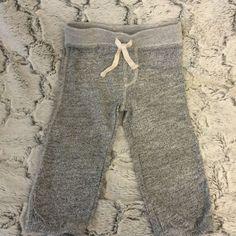 Baby Gap grey gray marled pants sweatpants lounge casual joggers 18-24 Months #BabyGap #Sweatpants