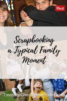 This digital scrapbooking project showcases a typical family moment our family. Genealogy Organization, Organizing, A Typical, Family Memories, Treasure Chest, Scrapbook Paper Crafts, Family History, Digital Scrapbooking, Storytelling