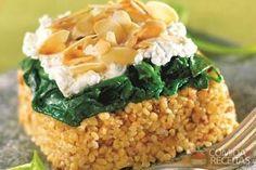 Receita de Gratinado de queijo de cabra e espinafre em receitas de salgados, veja essa e outras receitas aqui!