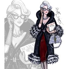 the devil's wear prada | Must see: fashion illustraties van Hayden Williams | Fashion Insider