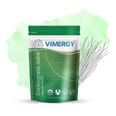Vimergy USDA Organic Barleygrass Juice Powder (250g) Vimergy