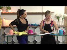 Sabor de Vida | Regata em Crochê por Vitória Quintal - 02 de Janeiro de 2013 - YouTube