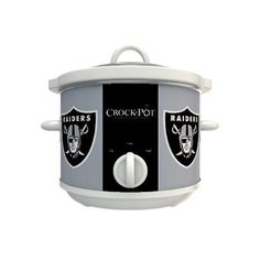Oakland Raiders.....Are you effing kidding me. A Raider crockpot? I have to have this!