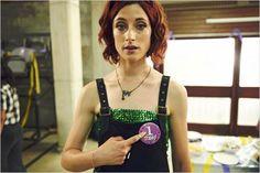 Photo Natasha O'Keeffe Natasha O'keeffe, O Keeffe, Misfits, Dan, Overalls, Hair Cuts, Actors, Films, Fashion