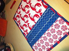 Quilted placemats i made.