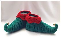 Ravelry: Curly Toes Elf Slipper Shoes pattern by Ling Ryan