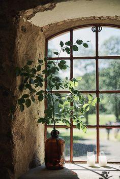Dekoration fönster bröllop