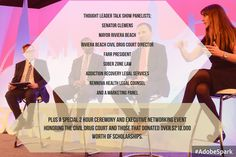 Addiction Executive Events Talk Show Host/Town Hall Quarterly Panel Series http://www.behavioralhealthnetworkresources.com/exec-panel-event/