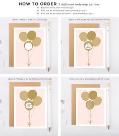A super cute and fun way to ask your bridal party to be a part of your big day! Product features a real gold scratch-off sticker! Read on for more details. ► HOW IT WORKS – Enter the quantities needed and add to shopping cart and purchase as normal – Select to write your own message in the blank space or have us personalize for you (bridesmaid or maid of honor only) – Place the provided sticker over the text – To reveal the message, scratch across the sticker with a coin or fingernail  ►…