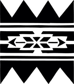 STENCIL Native American Wall Border No 223 10x8.7 by ArtisticStencils on Etsy https://www.etsy.com/listing/114422821/stencil-native-american-wall-border-no