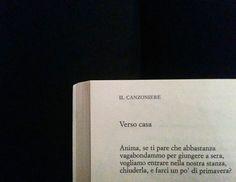 Umberto Saba, Verso casa in Trieste e una donna.