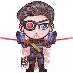 Deadshot ~~ Arrow ~~ art by Lord Mesa Team Arrow, Arrow Tv, Deadshot, Dc Comics Art, Marvel Dc Comics, Logo Superman, Floyd Lawton, Lord Mesa Art, Chibi Marvel