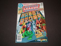 Justice League 195, (1981), George Perez Cover, DC Comics by HeroesRealm on Etsy