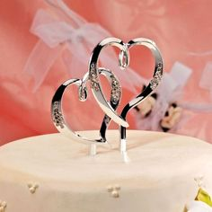 double heart wedding cake toppers 1000 images about cake toppers on 13707