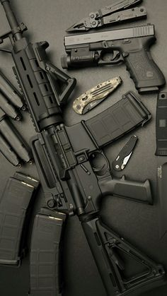 Submachine Gun Airsoft Tactical Knives Tactical Gear Ar 10ault Rifle Waffen Hand Guns Backgrounds