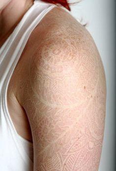 White ink tattoo http://media-cache1.pinterest.com/upload/194569646370766886_jRgaGGD7_f.jpg dejoslin tattoo ideas yes