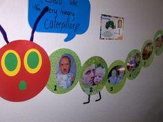hungry caterpillar bulletin board | Paparazzi Love: Andy's Very Hungry Caterpillar Birthday Party