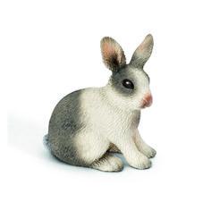 Schleich Rabbit Sitting Farm Life Little Pets Toy Figurine