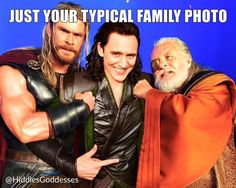 Chris Hemsworth - Tom Hiddleston - Anthony Hopkins #thor #loki #odin