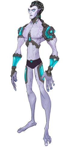 Mordesh Male Concept - Characters & Art - WildStar