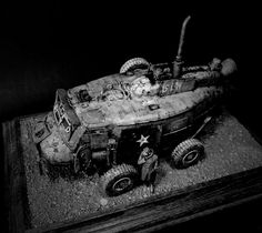 ANDIGOmodels / Pro Build Plastic Resin Scale Model Design by Andigo Kit Bash.Sci-Fi.Scratch Builds.Spaceships.Figures.Robots.Gundam.Concept Car Projects. What if...?! Creations.Airbrush.Aging.Weathering.Conversions & Dioramas in 1/35 1/20... Amour Modelling